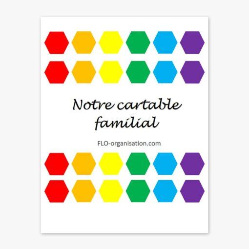 Cartable familial - FLO Organisation